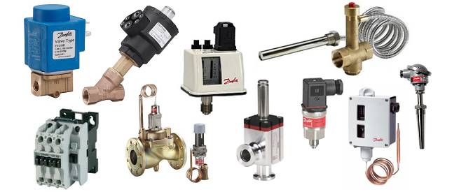 Danfoss Sales, Transmitters, Contactors, Valves, Sensors, Pressure and Temperature Switches - M ...